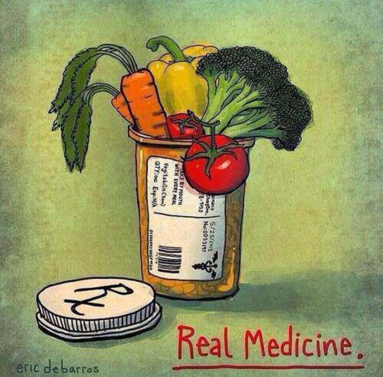 Food is Real Medicine