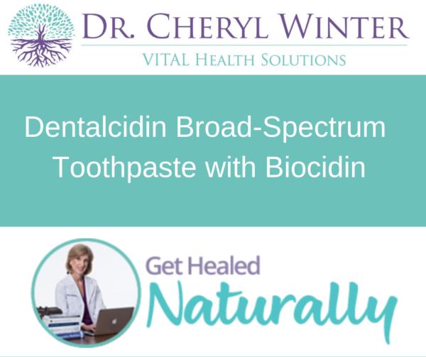 Dentalcidin Broad-Spectrum Toothpaste with Bicocidin